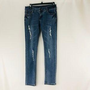 Armani Exchange Jeans - A/X Armani Exchange Distressed Slim Skinny Jeans